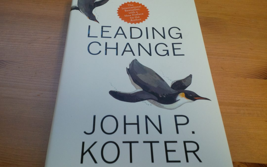 Leading Change [Book Summary]